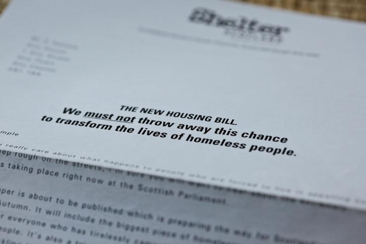 Shelter letter